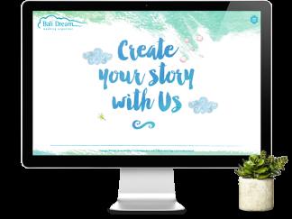 Balidreamwedding Website